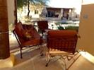 Casita's private patio