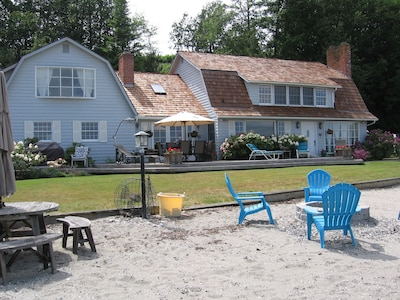 Large Home Right on the Beach