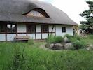 Haus mit Kräuterschnecke