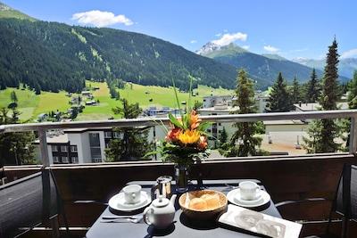 Skilift Rapid, Davos, Graubünden, Schweiz