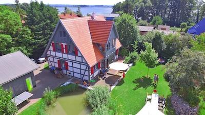 Oberuckersee, Brandenburg Region, Deutschland