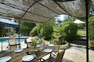 Outdoor living in provence
