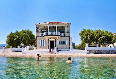 Mykali Beach, Samos, North Aegean Islands, Greece