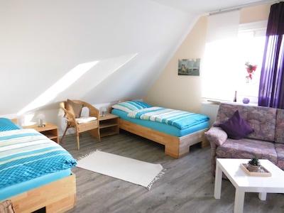 Schlafzimmer - Ausblick