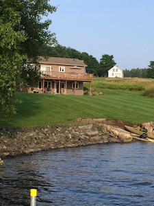 View of home from the water/dock