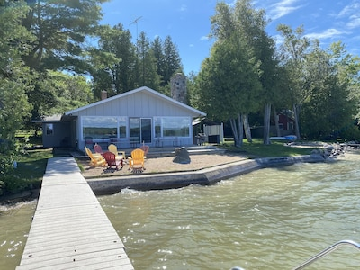 View of house from end of dock
