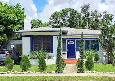 Mediterranean Style Cottage in Miami's Upper East Side