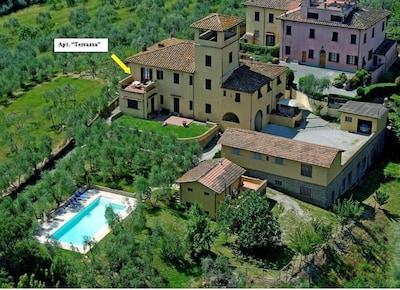 LA TERRAZZA - Appartamento in Villa dei primi del '900