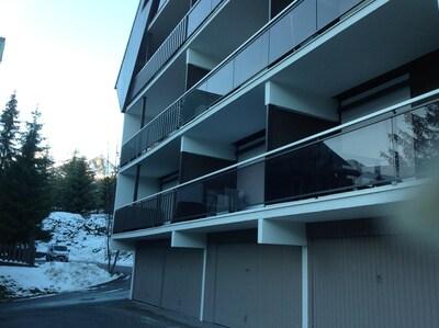 Appartement plein Sud, face montagne, 5mn à pieds du centre d.Auron..