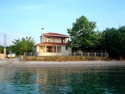 Pefki Strand, Istiaia-Aidipsos, Zentral-Griechenland, Griechenland