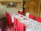 La salle à manger avec balcon  SE