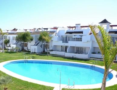 La Hacienda, apartamento de lujo en el primer piso, Islantilla Golf, capacidad para 4
