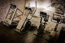 Hauseigener Fitnessraum