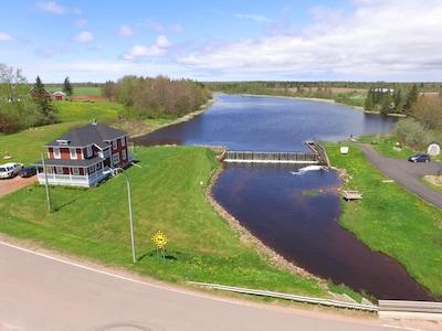 Aerial view of On Glenwood Pond
