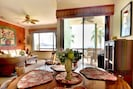 Dining area with ocean views and fresh breezes