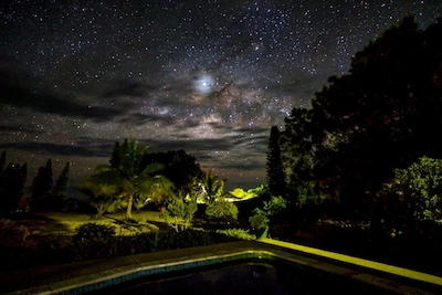 The night sky as taken by a guest.