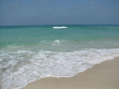 Crystal Clear Gulf of Mexico on the Edgewater Oceanfront