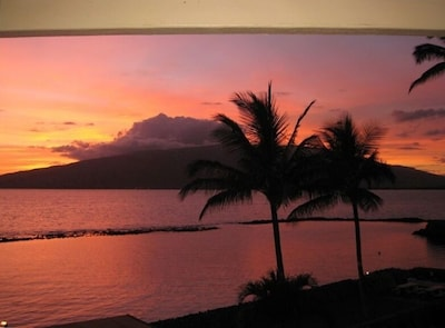 Sunset view from your private balcony