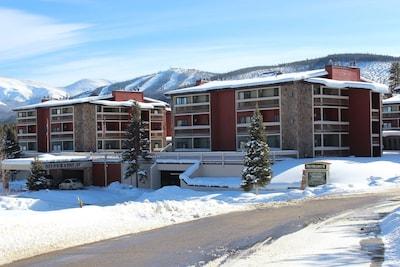 Silverado II in Winter, with Winter Park Ski Resort in background