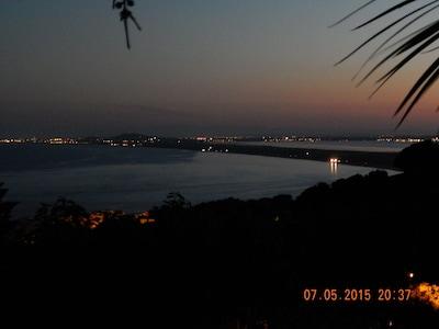Vue mer de nuit