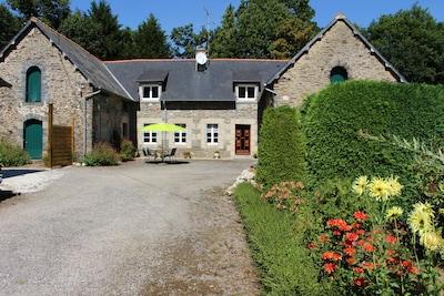 Guerlédan, Département des Côtes-d'Armor, France