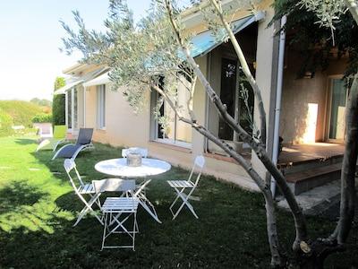 jardin et terrasse