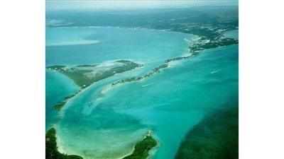 Aerial shot of Eastern Shore