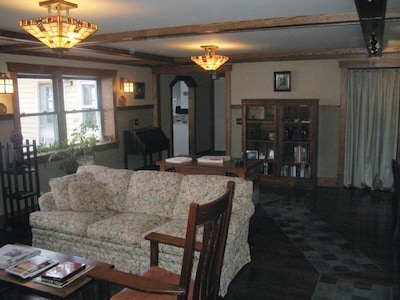 first view of living room
