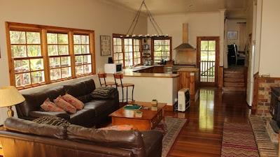 Rear Lounge Kitchen