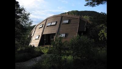 Tusenaarsstaden Gulatinget, Gulen, Vestland, Noorwegen
