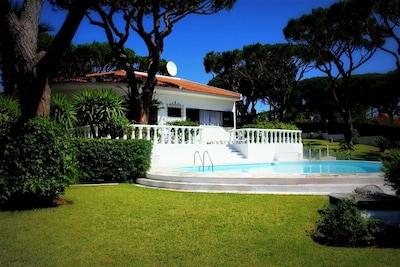 Outside Villa Pool