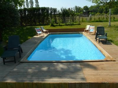 la piscine en juin 2017