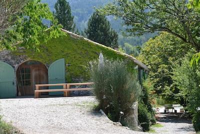 Großes Charakterhaus, Drôme Provençale, Ruhe, 12 Personen;