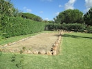 Boules pitch - beside pool