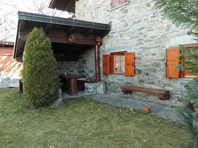 Bellecombe, Châtillon, Val d'Aoste, Italie