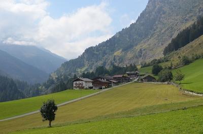 Remontées mécaniques de Gruen Boden, Moso in Passiria, Trentin-Haut-Adige, Italie