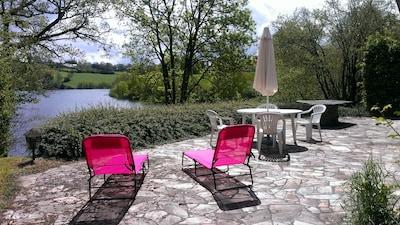 Pareloup Lake, Salles-Curan, Canet-de-Salars, Aveyron, France