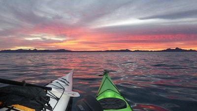 Sunrises over the Sea of Cortez are spectacular!
