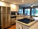 Granite countertops. Refrigerator/freezer with automatic ice maker! Dishwasher