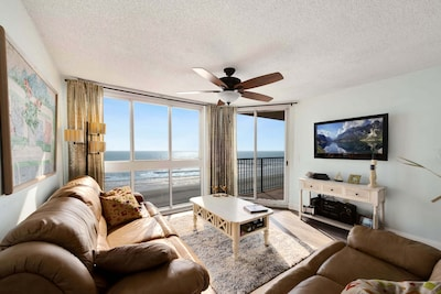 Living Room Ocean Front View