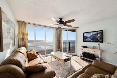 Living Room Ocean Front View