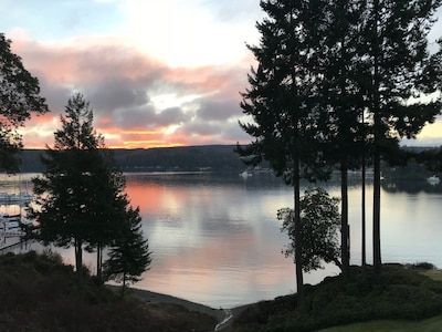The sunrise view from your  Deck... Enjoy