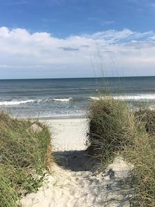 Welcome to a beautiful beach area