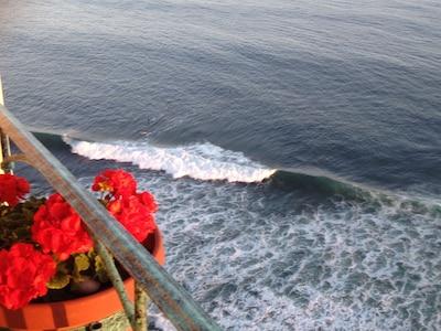 Wave view from Veranda, check K-38 & 38.5 constantly from veranda!!