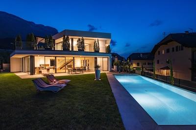 Villa Aich 5*****Eppan-Ihr Ferienhaus mit Privat-Pool -Nähe Kalterer See u Bozen