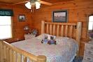 Downstairs bedroom/ King Bed