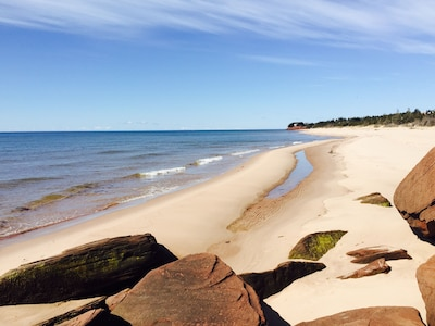 Red Point Provincial Park, Souris, Prince Edward Island, Canada