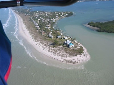 Little Gasparilla Island - Paradise awaits! We are just north of the teal roof!