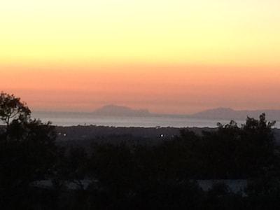 Villa Sunset nel verde del Cilento