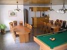 Billardroom with a bar